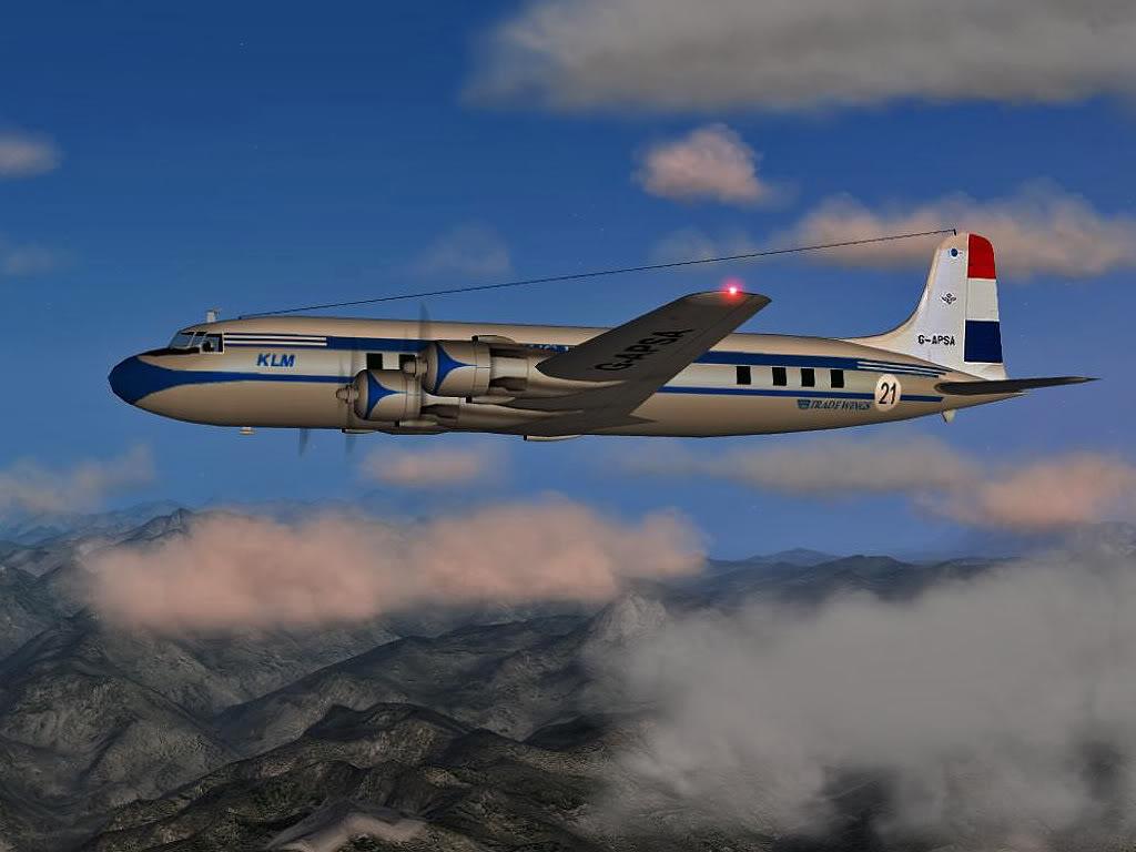 14 Douglas DC 6 pirineos LATEK 1