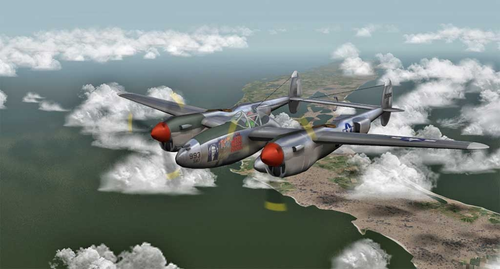 59 Lockheed P 38 Lightning 1