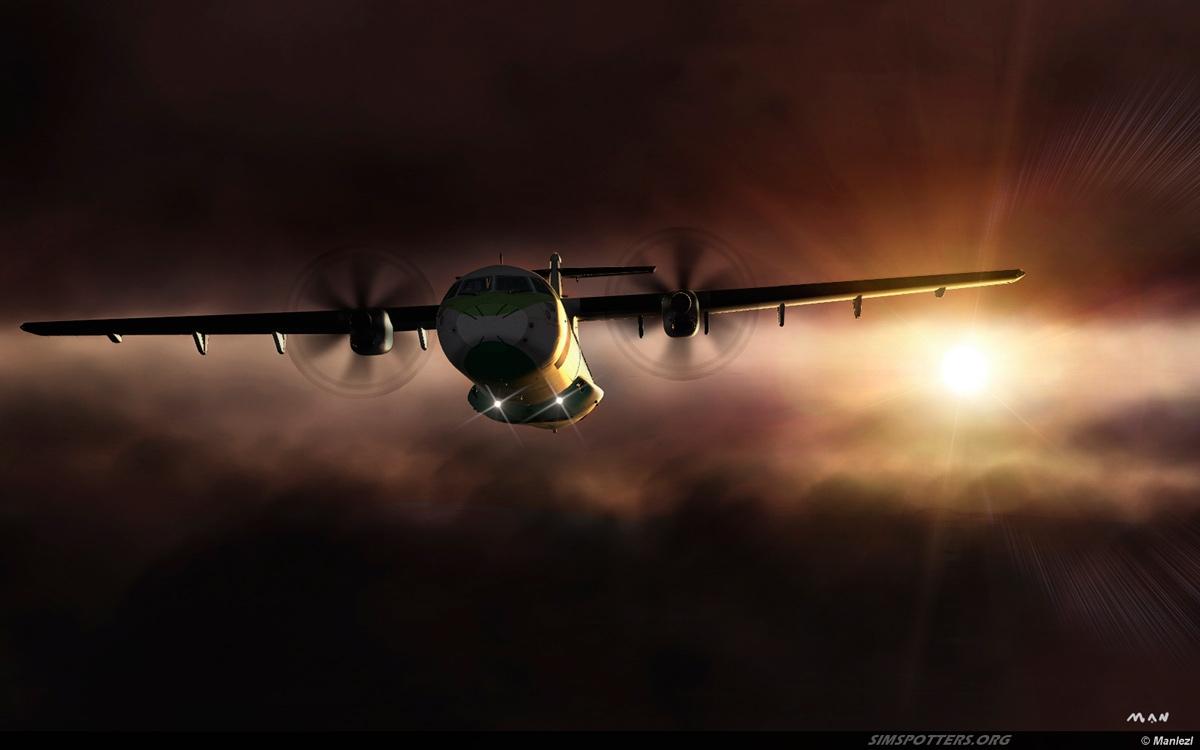 Sunset ATR72-500