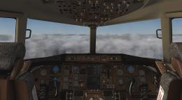 B757-200 Cockpit