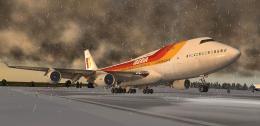 X Plane10 B747 EDFH 1