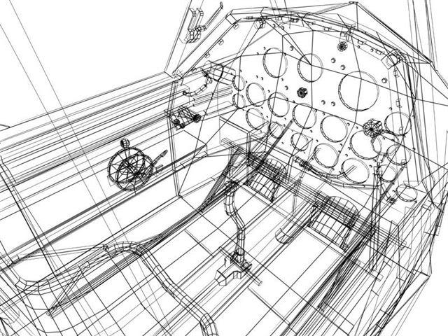 render cockpit 3